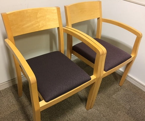 Geiger Wooden Reception / Meeting Room Chair