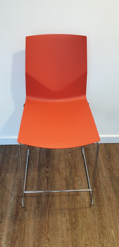 Ocee Design stools in orange