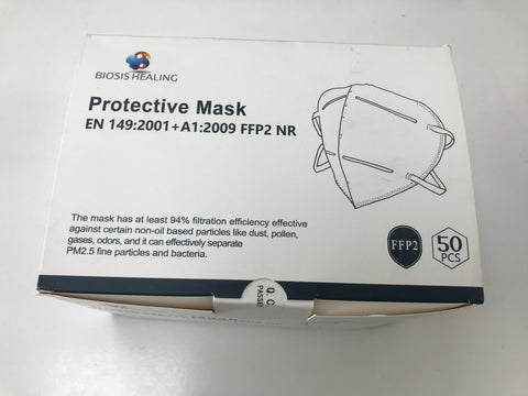 COVID-19 PPE PROTECTIVE MASK - FFP2 (box of 50)