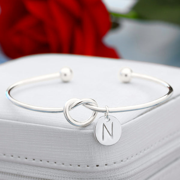 Personalised Initial Charm Bracelet - Superlative Trends
