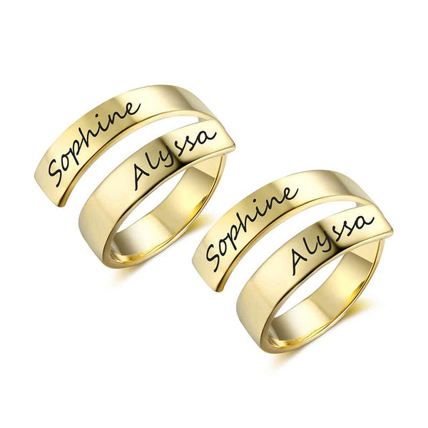 Personalised Engraved Ring - Superlative Trends