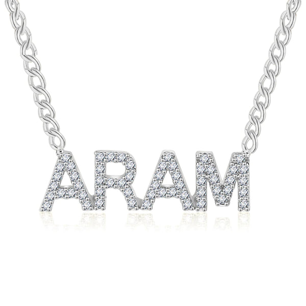 Diamond Name Necklace