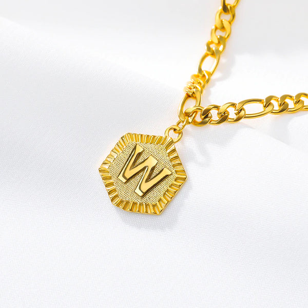 24k Gold Plated Initial Anklet