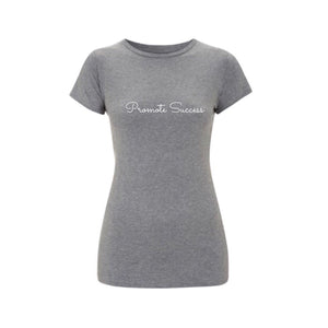 Womens Signature Slim Fit T shirt - Grey