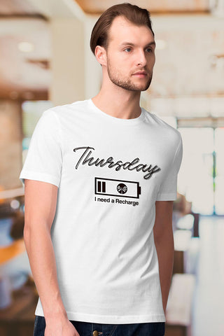 Thursday. I Need a Recharge T-Shirt