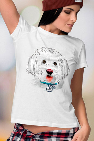 Koko Bichon Women T-Shirt