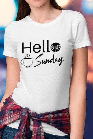 Hello Sunday Weekday Tee