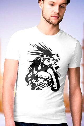 Aztec Warrior Tattoo T-shirt