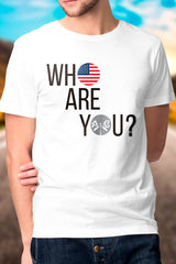 Who Are you? Men's Tee