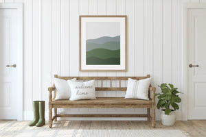 Abstract Rolling Hills Printable Art