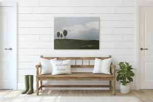 Three Trees Landscape Painting