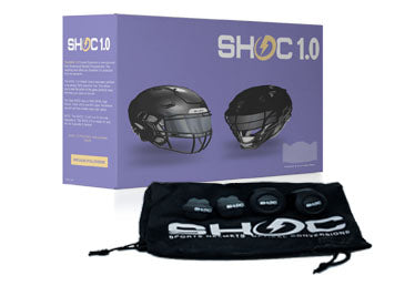 included in football visor box