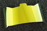 Yellow Mirror | SHOC 1.0 Football Visor