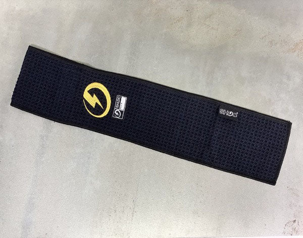 black football pant towel - belt