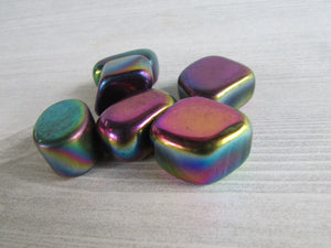 Tumbled Rainbow Hematite - Crystal - Cosmic Corner Savannah