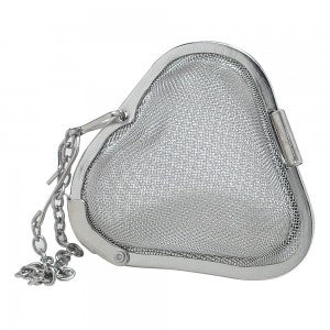 Heart Shaped Stainless Steel Metal Mesh Tea + Spice Infuser
