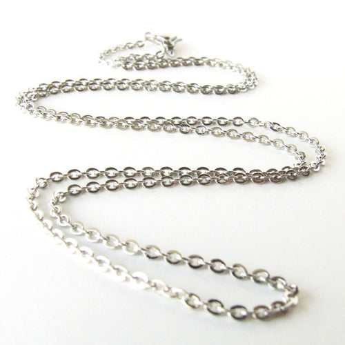 Necklace Chains | Cotton Cord | Sterling Silver | Stainless Steel | 18