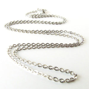 Necklace Chains | Cotton Cord | Sterling Silver | Stainless Steel | 18""