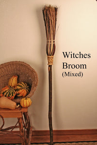 Witches' Besom Broom - Mixed (Fall)