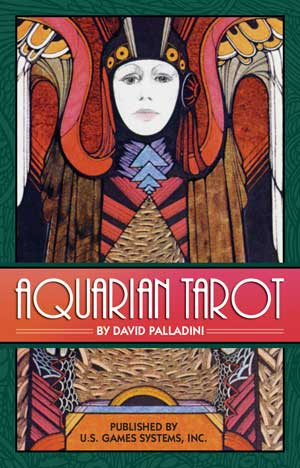 Aquarian Tarot Deck by David Palladini - Tarot - Cosmic Corner Savannah