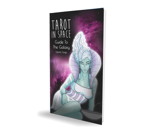 Guidebook only for Tarot in Space| Indie 78 Card Tarot Deck | Sci-fi Galaxy Tarot Cards | Divination | Alien Tarot | Rider Waite Smith
