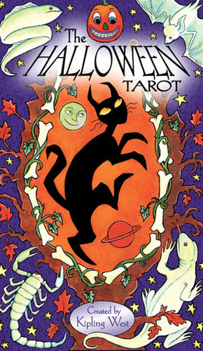 Halloween Tarot Cards by Kipling West - Tarot - Cosmic Corner Savannah