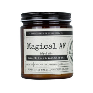 """Magical AF"" Candle"