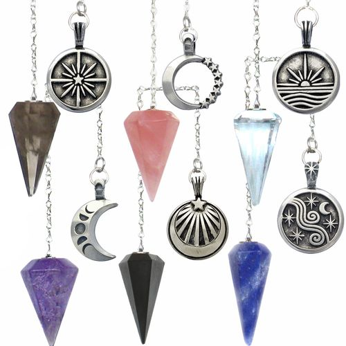 Pendulum - with Pewter Charm (Assorted)
