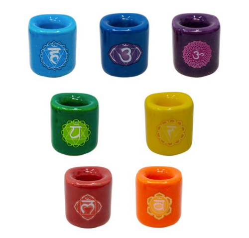 Chakra Chime Candle Holder