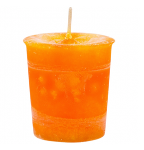 Sacral Chakra Orange Votive Candle