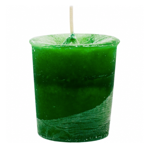 Heart Chakra Green Votive Candle