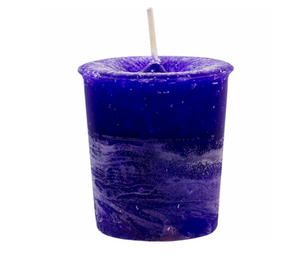Third Eye Chakra Indigo Votive Candle