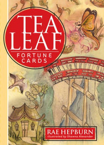 Tea Leaf Fortune Cards by Rae Hepburn - Tarot - Cosmic Corner Savannah