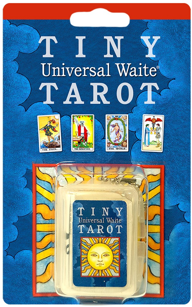 Tiny Universal Waite Tarot Key Chain - Tarot - Cosmic Corner Savannah