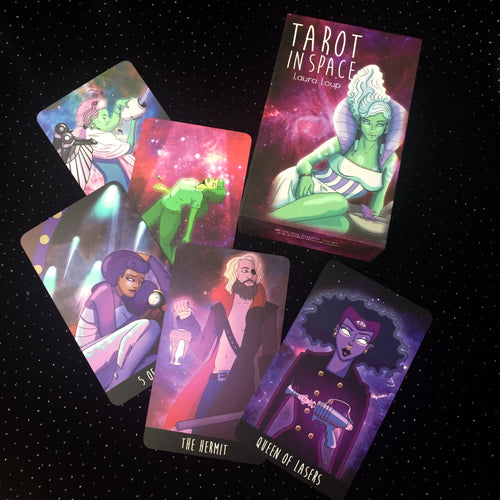 Tarot in Space Laura Loup