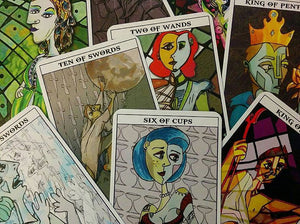 Greek Mythology Picasso Tarot Deck ||  Mythological Abstractions || Indie Tarot - Tarot - Cosmic Corner Savannah