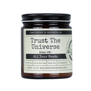 """Trust the Universe"" Candle"