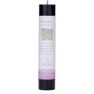 Reiki Herbal Pillar Candle Protection