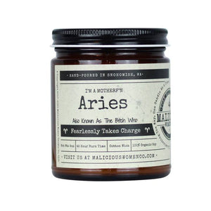 """Aries"" Candle"