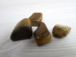 Tumbled Tigers Eye - Crystal - Cosmic Corner Savannah
