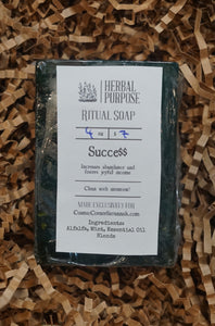 Success $$$ Ritual Soap | Increase abundance and joyful income | Money, job, and career