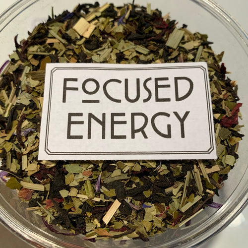 1 oz Focused Energy Black Tea + Yerba Mate | Organic