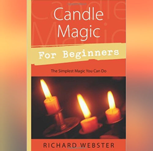 Candle Magic For Beginners Book by Richard Webster - Book - Cosmic Corner Savannah