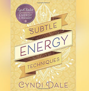 Subtle Energy Techniques Book by Cyndi Dale - Book - Cosmic Corner Savannah