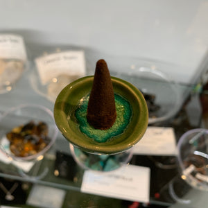 Cone Incense Burner Dish