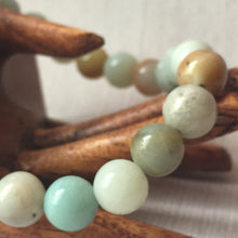 Amazonite Bracelet 8mm Round Beads - Jewelry - Cosmic Corner Savannah