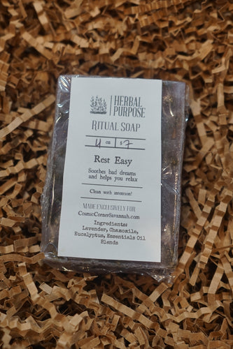 Rest Easy Ritual Soap | Soothes bad dreams and helps you relax | Sleep and relaxation