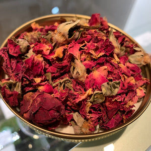 0.5 oz Rose Buds and Petals