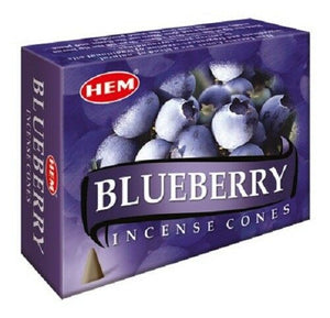 Blueberry HEM Incense Cones