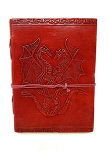 Leather Journal - Red Dragon